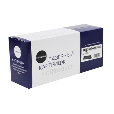 Фото Картридж OKI B401/MB441/451 (NetProduct) NEW 44992404/44992402, 2,5K