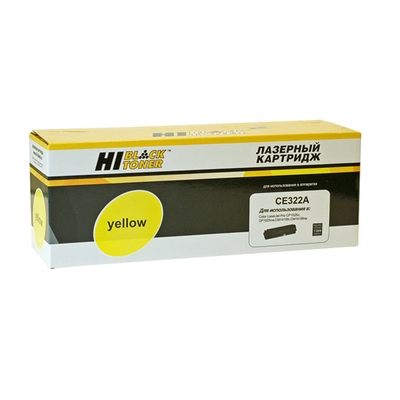 Фото Картридж HP CB542A/CE322A Yellow (Hi-Black)