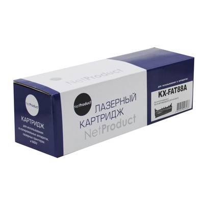 Фото Картридж Panasonic KX-FL401/402/403/FLC411/412/413 (NetProduct) NEW KX-FAT88A, 2К